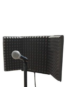panel de aislamiento para microfono 65 x 33 cm