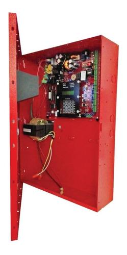 panel de alarma contra incendio 4 zonas  bosch fpd-7024