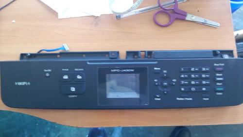 panel de control brother mfc--j430w