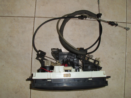 panel de control de aire acondicionado de aveo