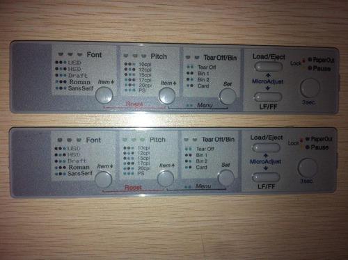 panel de control epson lq 590 lq 2090 originales nuevos