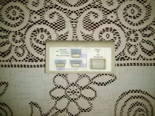 panel de control para impresora epson fx-1170