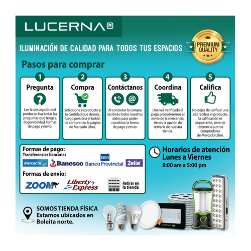 panel de led redondo ajustable 15w blanco lucerna (6 unidade