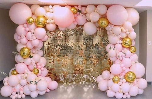 panel de lentejuelas gold