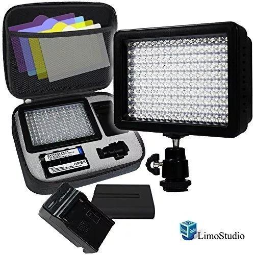 panel de luz led 160 para estudio de fotografia limostudio