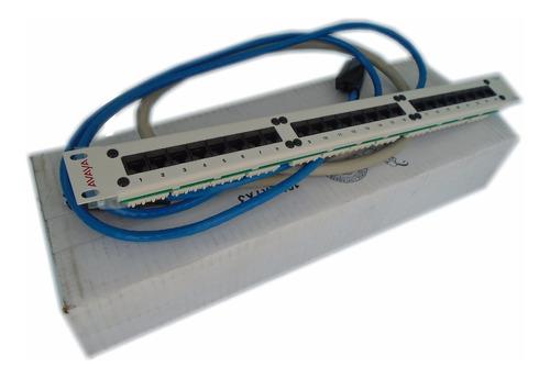 panel de parcheo  ip600 avaya con amphenoles 700012917