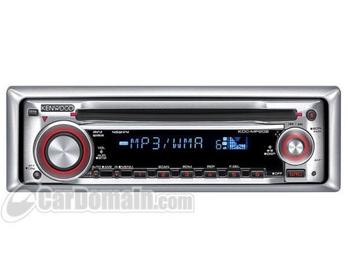panel de radio kenwood kdc-mp202