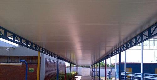 panel de techo sandwich galpon almacenes modular