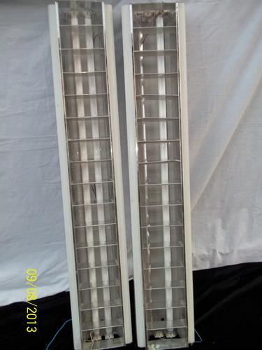 panel de tubo luz  1,25 cm alto