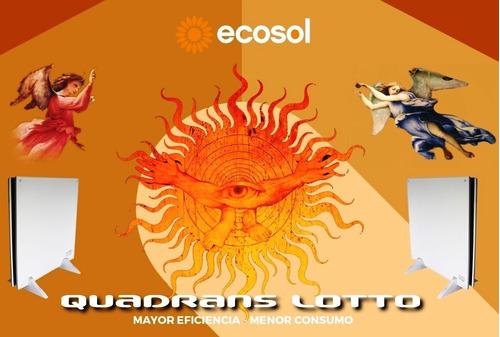panel ecosol lotto 900 w quadrans duo mod 2018 pie y pared