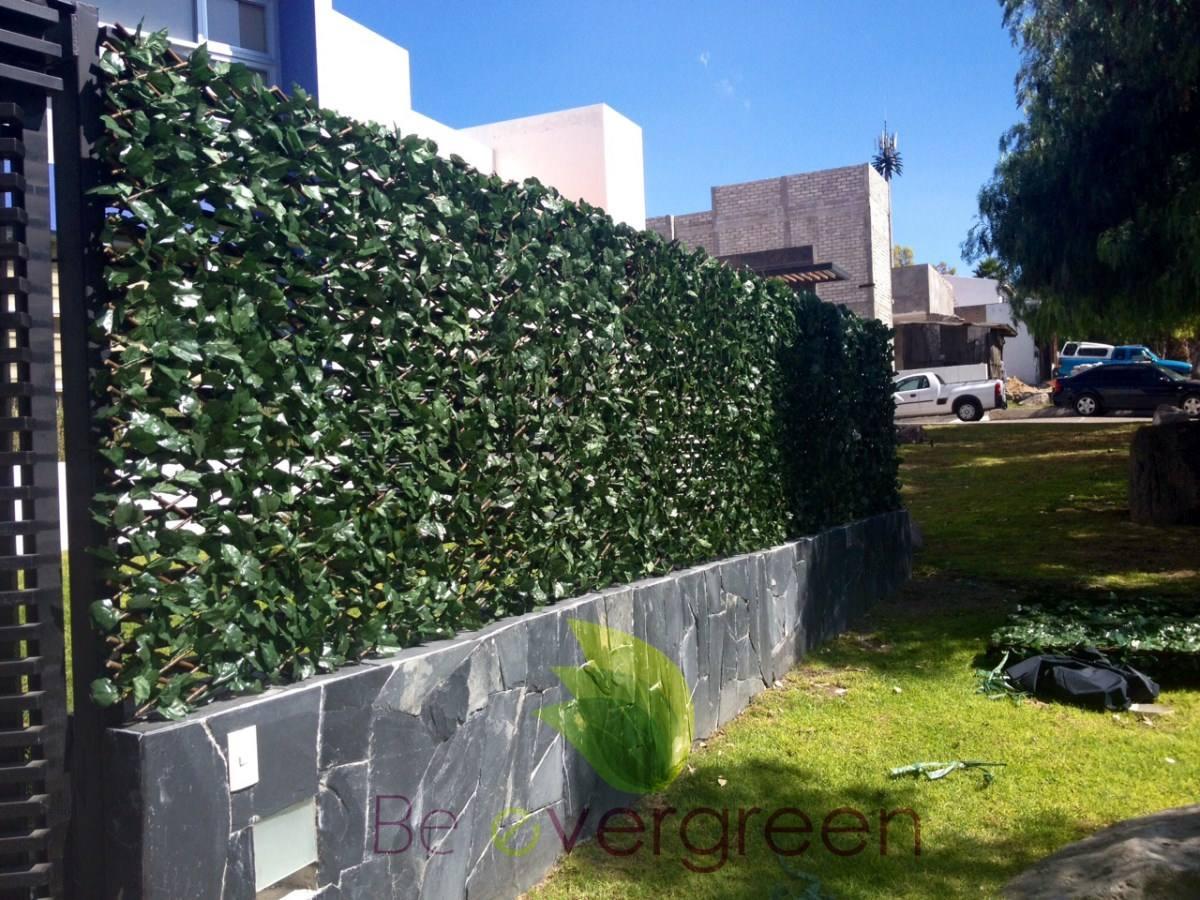 Panel expansible follaje sintetico enredadera artificial for Follaje para jardin