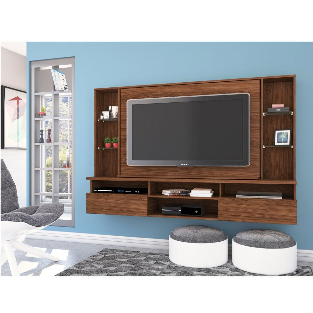 Panel giratorio rack de tv led lcd home mueble comedor 12c for Mueble giratorio