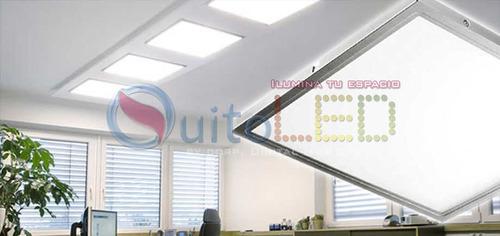 panel lampara led 60x60 48w ultraslim decoración