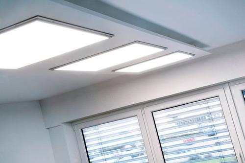 panel lampara led 60x60 48w ultraslim decoracion colgante