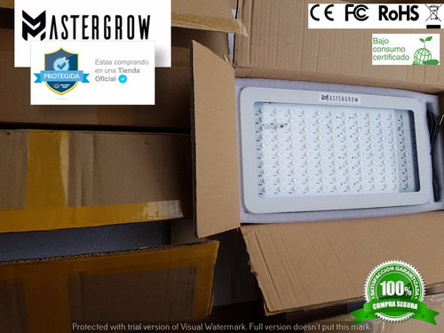 panel led 1200w cultivo indoor certificado/ mastergrow