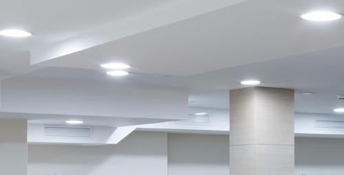 panel led 12w embutir yeso luz blanca plafon marca alemana