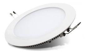Circular Embutir Blanco 18w Plafon Panel Led Redondo YyIvmfgb67
