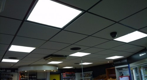 panel led 60x60 48w super slim - decoración