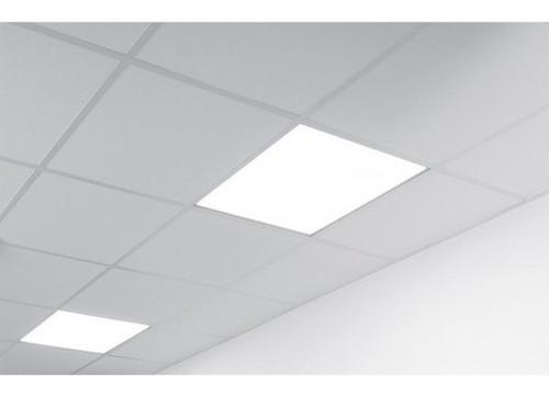 panel led 60x60 cm luz blanco frio led 60w 220v