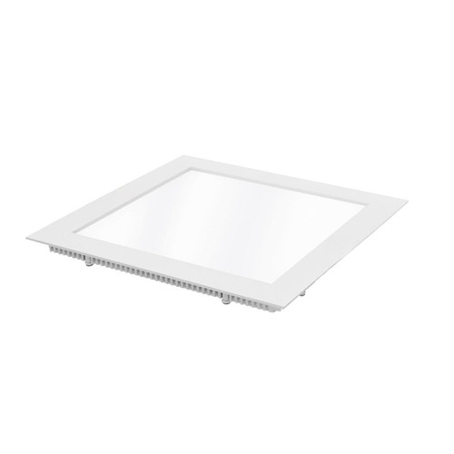 panel led 6w cuadrado incrustar 12x12cm luz blanca o calida