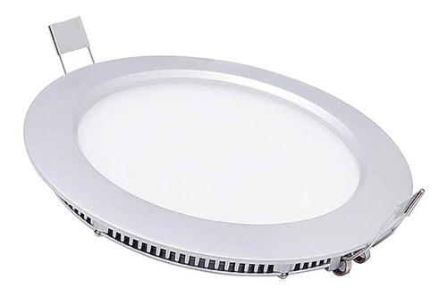 panel led 9w redondo incrustar 5'' luz blanca o calida