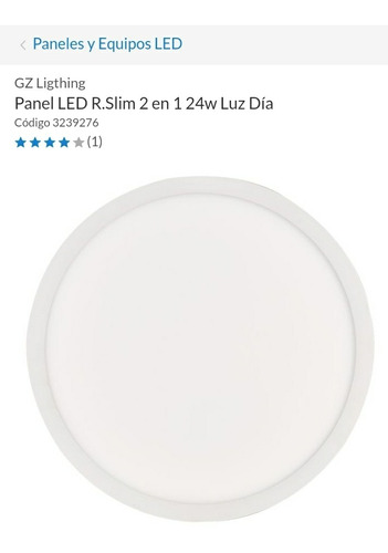 panel led circular