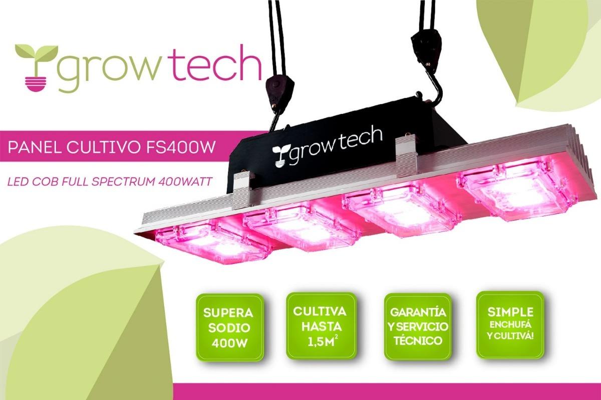 Led Cultivo Gratuito GrowtechEnvío Panel Cob 400w Indoor stQhrdC