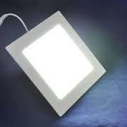 panel led cuadrado 18w blanco natural embutir ideal durlock