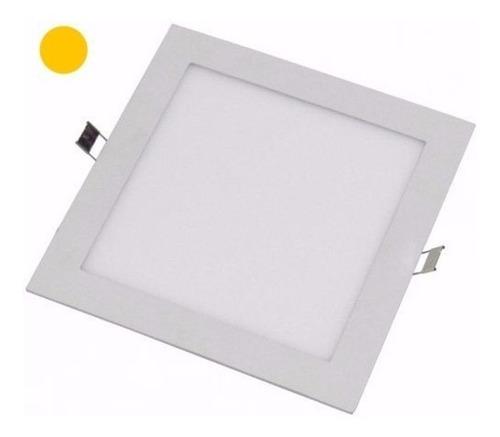 panel led cuadrado 18w spot embutir 80% ahorro energia gtia