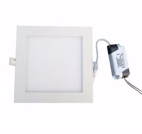 panel led de embutir cuadrado 6w spot 220v calida fria