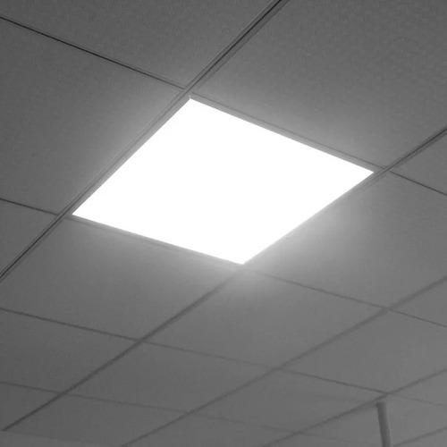 panel led embutir 60x60 48w luz fria macroled caja x 8 unid