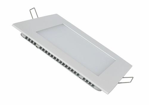 panel led embutir cuadrado 18w luz calida fria spot 220v