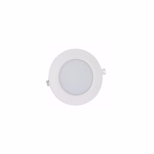 panel led embutir redondo 6w spot 220v calida fria