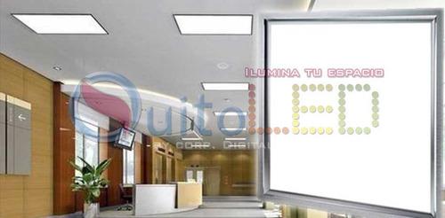panel luz led 60*60 48w - lampara led 60*60 blanco- quitoled