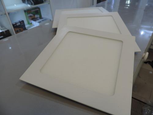 panel luz led redondo y cuadrado12w-15w-18w gypsum