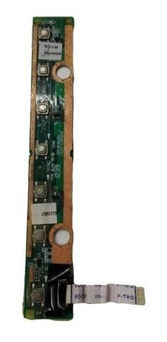 panel multimedia con botón de encendido toshiba a215 sp5816