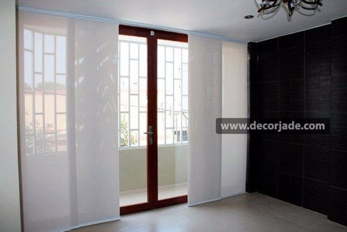 panel oriental  3 vias 3 paños black out 100 %  3m x  2.2m