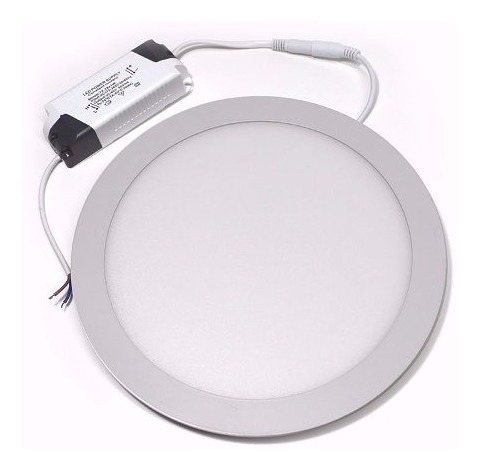 panel para embutir macroled 180-265v 12w blanco frío
