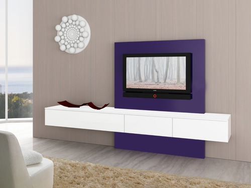 panel para led lcd modular rack mueble organizador modulo