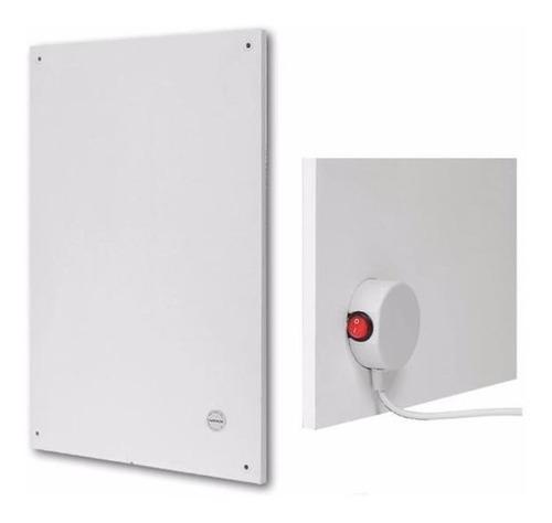 panel placa calefactor 400w bajo consumo apto baño con tecla