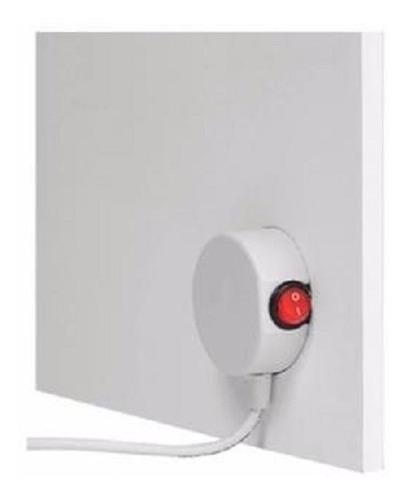 panel placa radiante estufa bajo consumo 480 tecla encendido