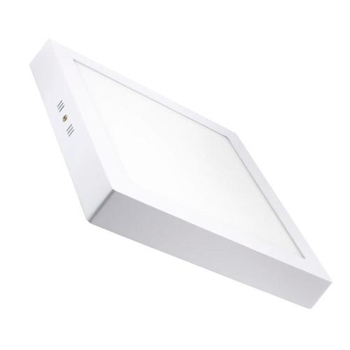panel plafon 24w led spot cuadrado aplicar exterior aplique