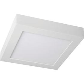 Panel Plafon Aplicar Exterior Led  6w Cuadrado Ahorro Garant