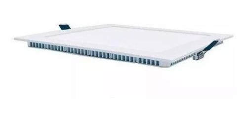 panel plafon embutir spot de techo luz led 12w cuadrado 220v