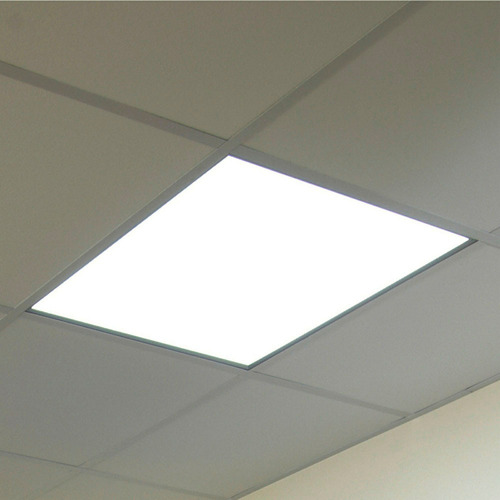 panel plafon led 60x60 cm 60w frio potente + marco aplique