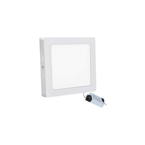 panel plafon led aplique 12w spot cuadrado blanco garantia