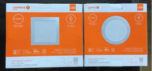 panel plafon led embutir osram ledvance 12w - pack x10
