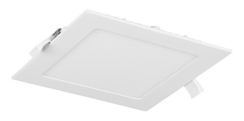 panel plafon led spot cuadrado 24w embutir iluminacion led