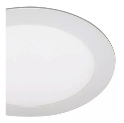 panel plafon led spot redondo 18w blanco 220v embutir