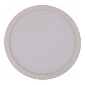 Panel Plafon Spot Led Externo 12w  Redondo 182x39